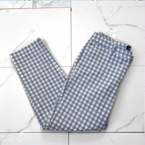 Old Navy Blue and White Harper Pants